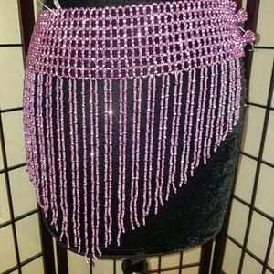 💎Sexy Beaded Skirt/Body Jewelry Festival Stripper